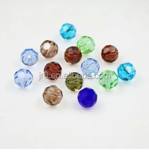 Wholesale Crystal Beads In Bulk Crystal Lighting and Accessories Glass Round Beads