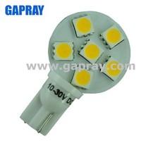 100lumen side pin 24V T10 W5W 1W car led map light