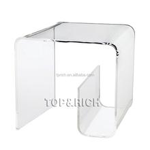 2015 Hot Sale Professional Acrylic Cheap Salon Furniture with Decorative Design