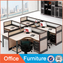 China offer good office furniture prices with best office 4 seater partition