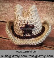 crochet baby cowboy hat pattern handmade crochet baby boy beanie hat
