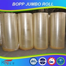 good bopp film clear/yellowish/print jumbo roll