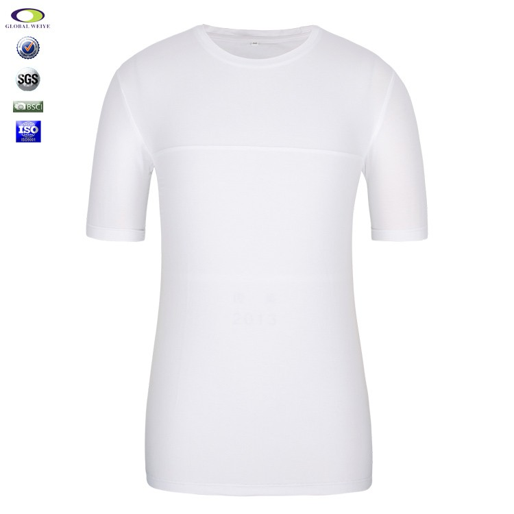 China cheap wholesale plain white blank tshirt no label Cheap plain white shirts