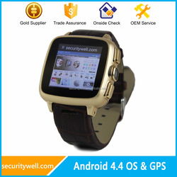 5MP camera 3G GPS WiFi Android Watch Phone