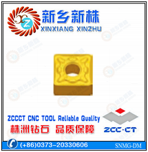 ZCCCT semi-finishing CNC insert for steel cutting SNMG090308-DM
