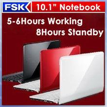 Muy barato mini ordenador portátil 10.1 intel n2600 atom de doble núcleo baratos del ultrabook del ordenador portátil notebook