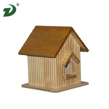 FSC/BSCI wood and polished technique wooden bird cages/bird houses