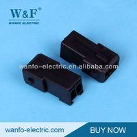 DJ7023-3.5-11 black 2 pin Auto connector housing