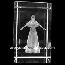 K9 3D de imágenes láser de grabado cristal bloque