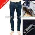 ( #tg539m) 2013 de mezclilla orillo de prendas de vestir de fábrica de japón stretch skinny jeans para hombres