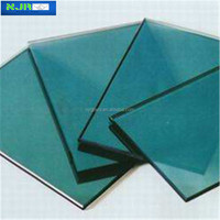 colored heat resistant coated glass