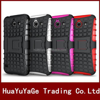 Hybird Kickstand TPU&PC combo case cover for Huawei Ascend Y550