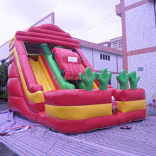 inflatable slide hot sale , NO.229 top quality fire truck inflatable slide