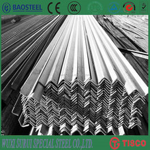 customized specifications 410 stainless steel angle bar