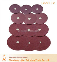 for ship boat & metal aluminium oxide abrasive disc fiber disc