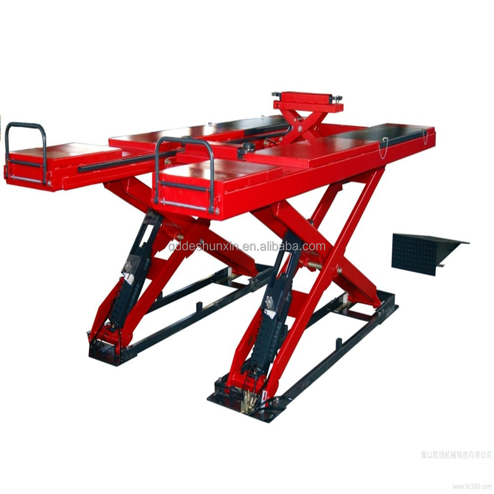 Auto Lift Tractor : Newly portable and stable scissor car lift or alignment