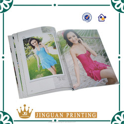 Offset Printing Custom Full Color Print Photo Book