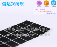 Waterproof adhesive strong sticky glue hook&loop square for mop
