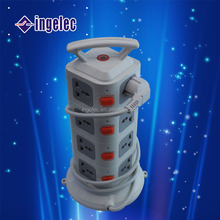 vertical electric power outlet/outlet electric power vertical