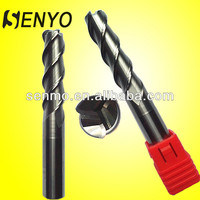 Senyo Aluminum Cutting Roter Bit/Carbide 3 Flute Round Nose Router Bit For Wood/Micro End Mill Tooling