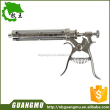 factory wholesale metal material use veterinary injection gun