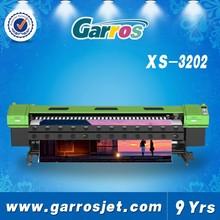 3.2m flex banner Digital Printing Machine (Two Ep son DX5/DX7,Double 4 color)