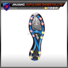 Painting Any Patten Soccer Shoe Outsole Fashion Custom TPU Rubber Sole Whole