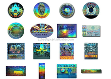 3D hologram laser stickers/label