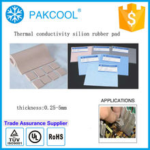 Highest easily tear resistant thermal conductive pad 2mm 4.0 W/m.K