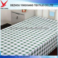 plain white cotton fabric for hospital use 30*30 78*65