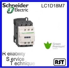 LC1D18M7 3P 18A 220V original TeSys Schneider telemecanique magnetic electric ac contactor