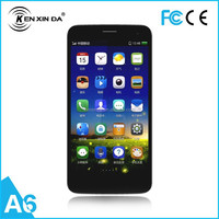 kenxinda A6 Mobile Phone Wholesale Quad Core smart Phone 5.0 QHD Android 4.4 GPS china mobile phone 3G Android Celular