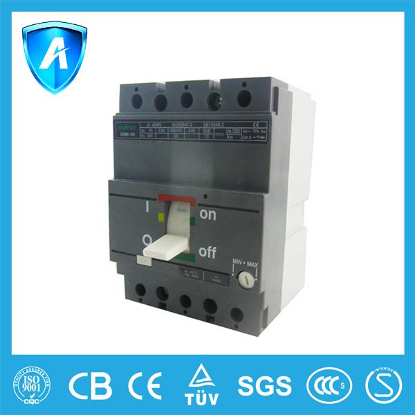 Interruptores en caja moldeada