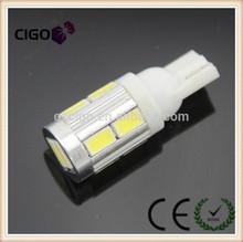 venta directa de fábrica 10 lado smd led de la lámpara 12v