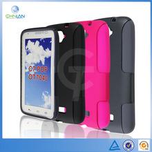 Dual 2 In 1 Dream Mesh Design PC Silicone Combo Case For Alcatel One Touch Pop C7 Dual 7040D 7040E