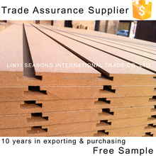 raw grooved slotted mdf for your needs