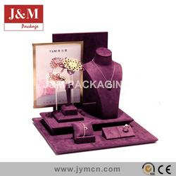 concise type jewelry decoration accessory mini window jewelry display set case