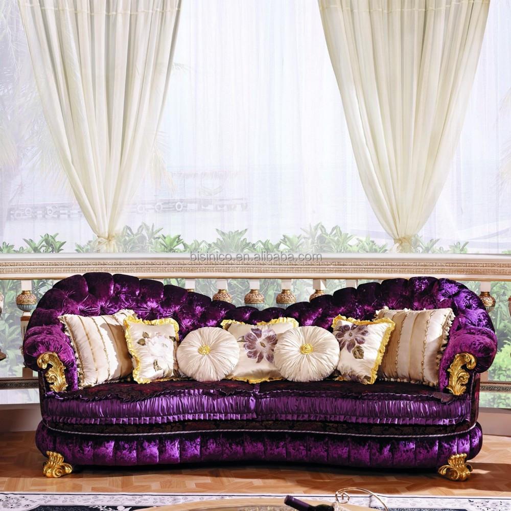 Di lusso in stile barocco mobili soggiorno divano set for Divano stile barocco
