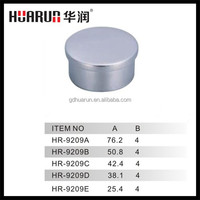 51mm stainless steel pipe end cover