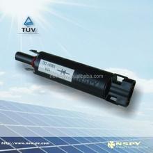 MC4 solar connector diode, PPO insulated solar connector