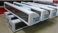 led advertising taxi roof light box mould manufacturer/Outdoor advertising light box led taxi roof sign mold