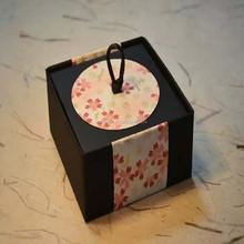 Flower series : cheap print plastic flower box wholesale customized print sakura box