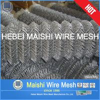 50mm opening 2.5mm hot dipped galvanized chain Link fence