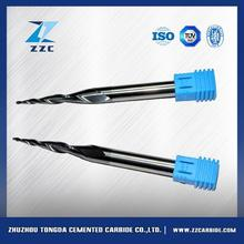 Sale in Russia solid carbide 4 flutes end mills for stainless steel