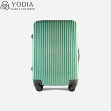 Fashion And Cute PC Hardside Waterproof Lightweight Decent Green ice cream alike Suitcase for departments