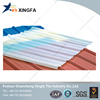 Build Material PVC Plastic Transparent Roof Tile For Warehouse