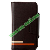 High quality 100% Brand New KLD Wallet Leather Case Cover for iPhone 5S 5C 5 4S 4