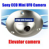 Mini hidden Sony EFFIO CCD 380Tvl-700TVL UFO Security elevator CCTV Camera