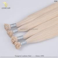 Hot Selling Good Feedback Brand Name No Shedding No Tangle Itlay Glue leshine hair company