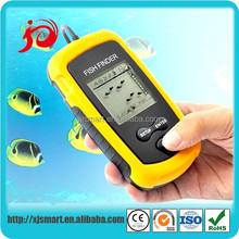 New portable sonar sensor fish finder with LCD display